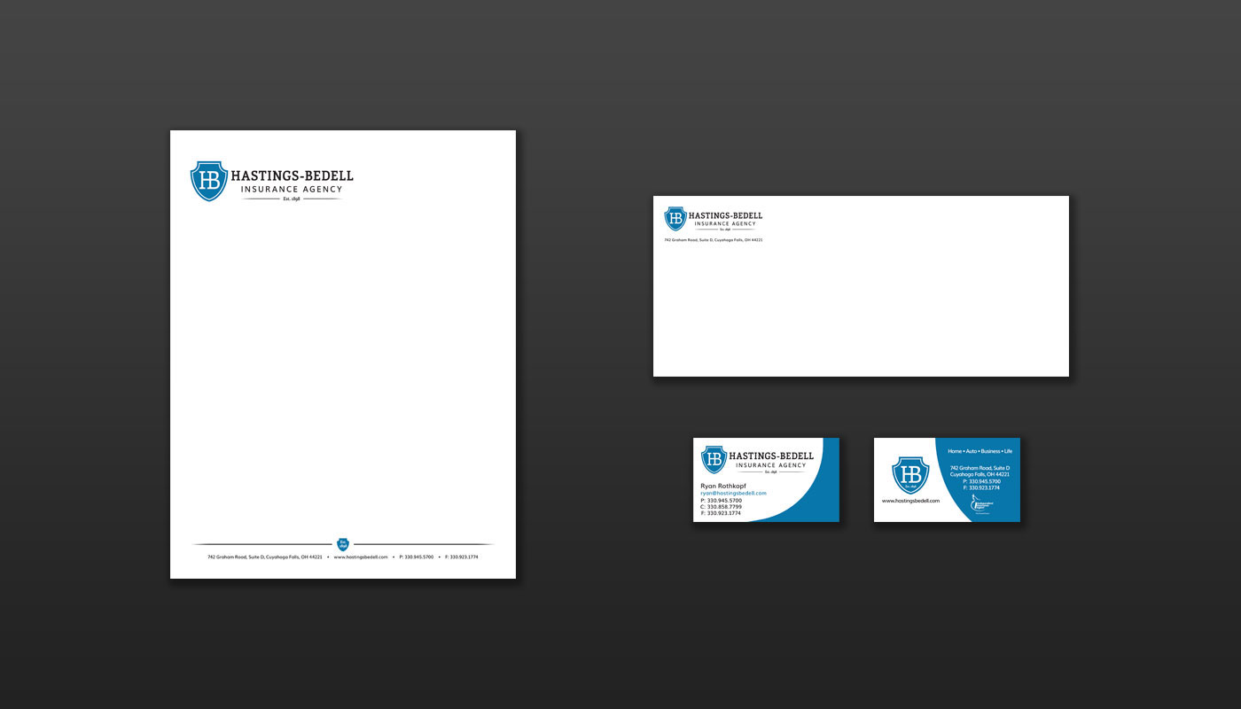 Hastings-Bedell Insurance Agency - Stationery